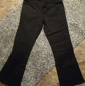 Dickies size 0 blk pants girls